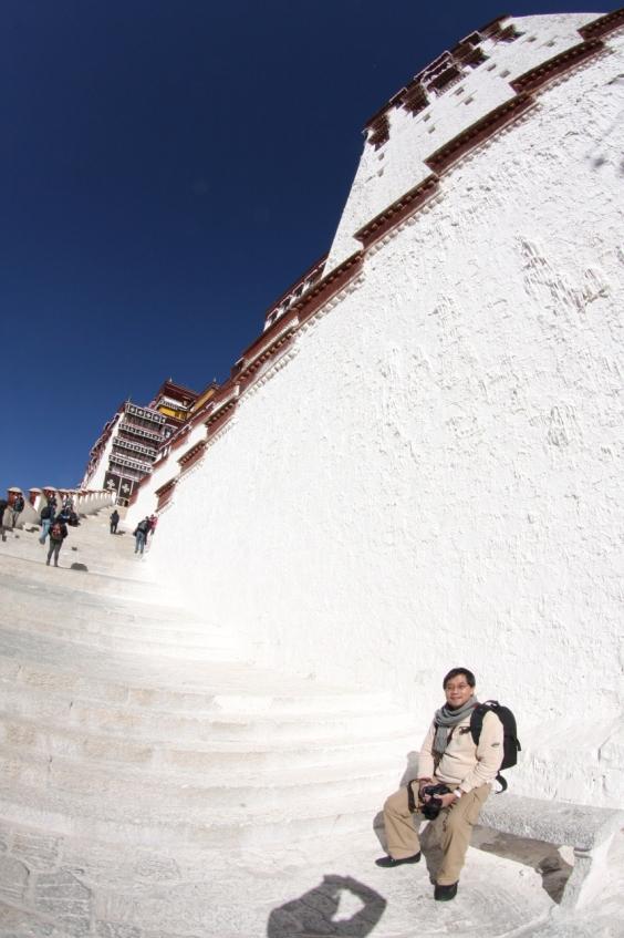 The Majestic White Palace