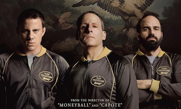 The Leading Men of 'Foxcatcher' Grace New Theatrical Poster
