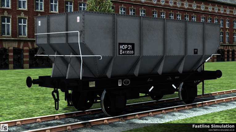 Fastline Simulation: dia. 1/143 HTO 21T coal hopper