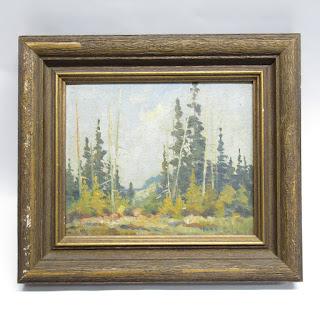 Curtis Bielefeldt Signed Landscape Painting