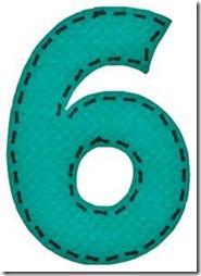 6 letras verdes
