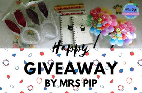 Happy Giveaway BY Mrs Pip