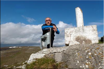 Iturrigorri mendiaren gailurra 1.073 m. -- 2016ko apirilaren 10ean