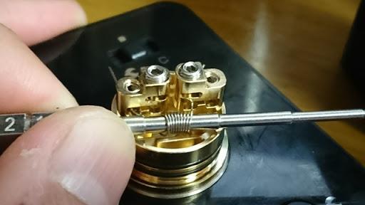 DSC 2111 thumb%25255B2%25255D - 【RDA】「Geekvape Peerless RDA」レビュー。24mm爆煙大型コイルビルド可能な高級感あふれるドリッパー!!ボトムフィード対応【ギークベープ/ビルド/電子タバコ】
