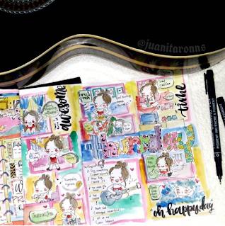 contoh doodle journal