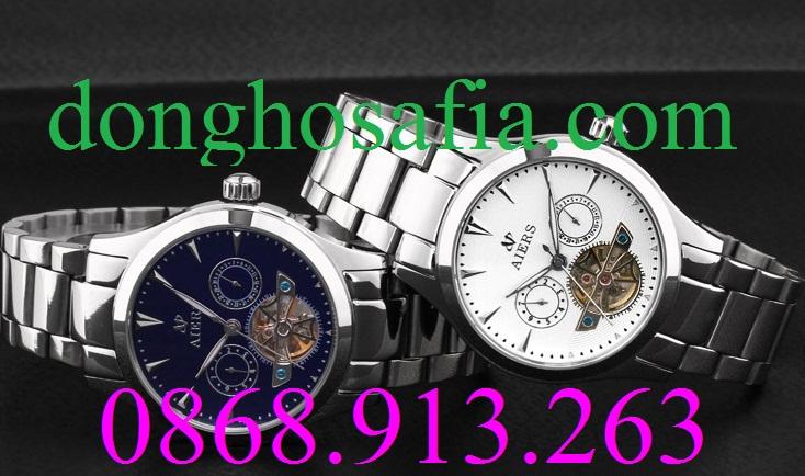 Đồng hồ nam cơ Aiers B152G AE004