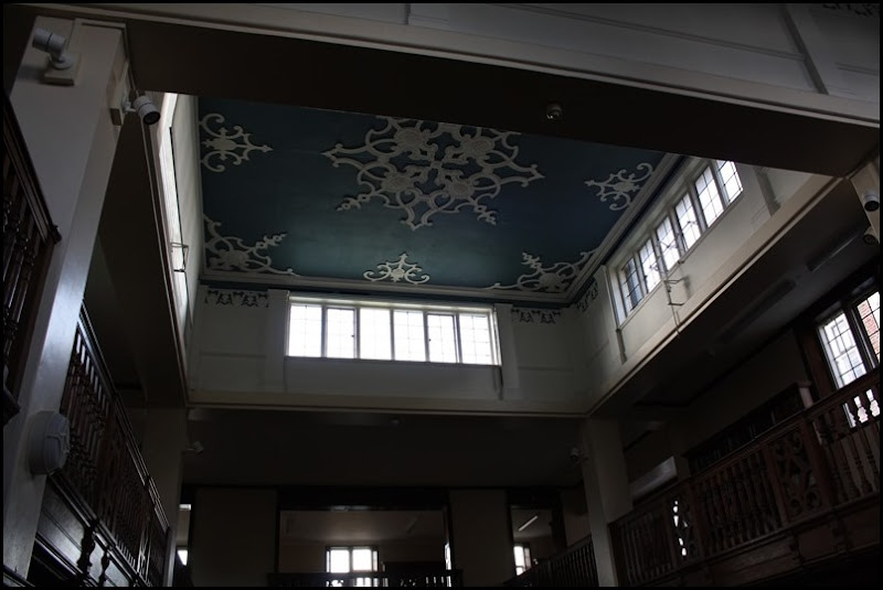 Charlton House - library ceiling