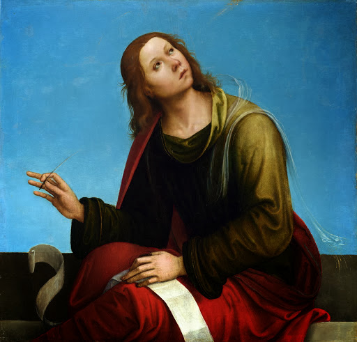 Lorenzo Costa - St. John the Evangelist.