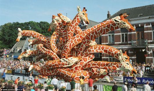 Цветочное шоу в Голландии. 12 фото
