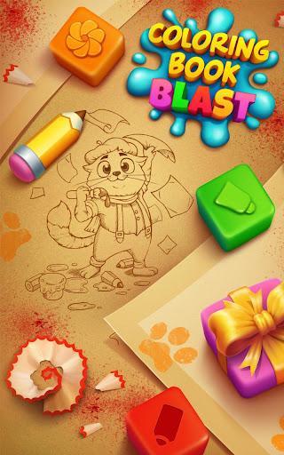 Coloring Book Blast - A Collapse & Color Game 1.0.0 mod screenshots 5