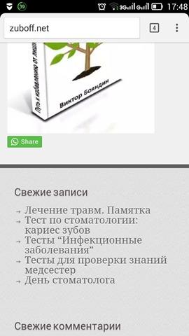 кнопка вотсапп в мобильной версии сайта