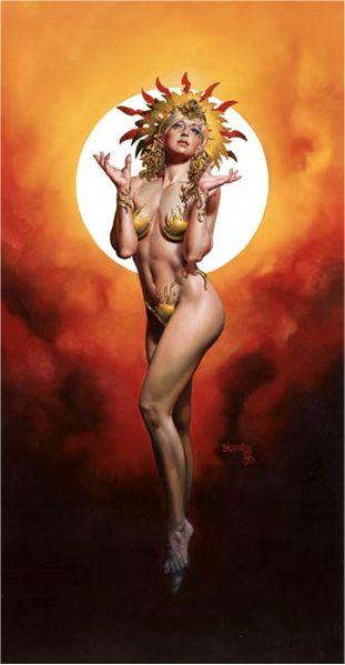 Sun Goddess, Goddesses