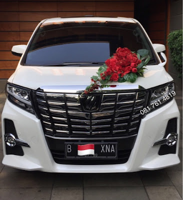 cara menghias mobil pengantin