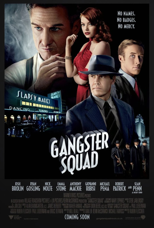 Poster Of English Movie Gangster Squad (2013) Free Download Full New Hollywood Movie Watch Online At Alldownloads4u.Com