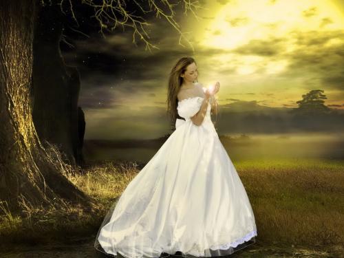 White Magic Girl, Magic And Spells
