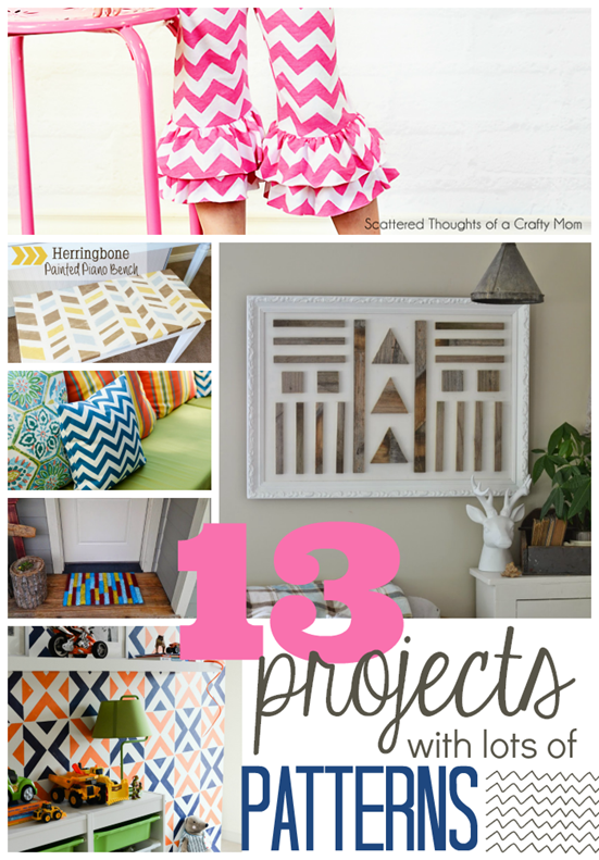 13 Projects with Lots of Patterns at GingerSnapCrafts.com #linkparty #features #pattern_thumb[5]