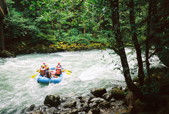 Rafters set off on the rough waters of the Nooksack / Credit: Bellingham Whatcom County Tourism