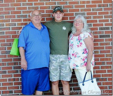 Caleb with gram & pap