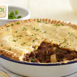 Meat And Potato Pie.
