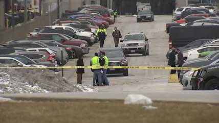 2 shot to death in possible murder-suicide outside Hodgkins UPS facility