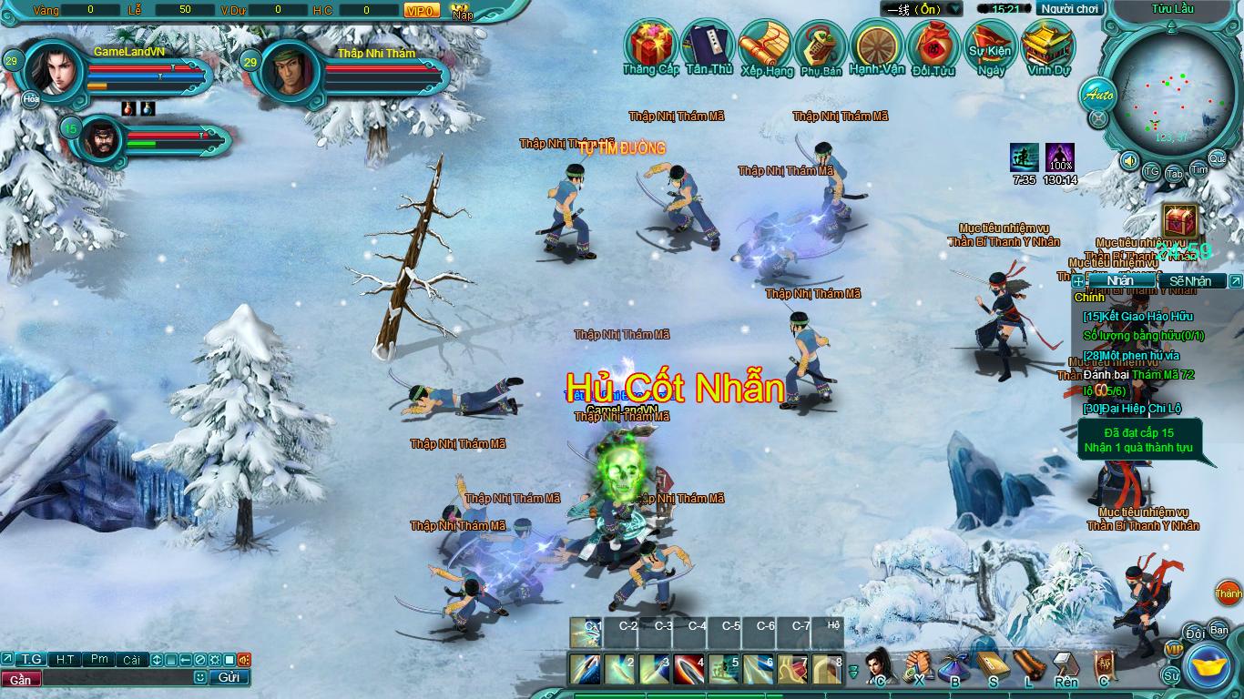 Hình ảnh thử nghiệm webgame Tiểu Lý Phi Đao - Ảnh 21