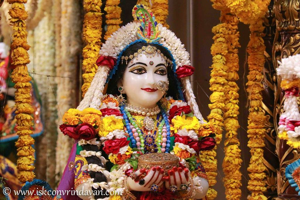 ISKCON Vrindavan Sringar Deity Darshan 28 Feb 2016 (15)