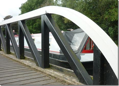 15 swing bridge onto MH arm