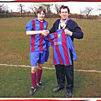 October 2006  Presentation of football strips to Bradford on Avon Town Youth Football Team (Under 14s)