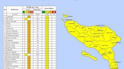 Kembali Diperpanjang, Ini Daftar Daerah Yang Terapkan PPKM di Aceh dan Levelnya