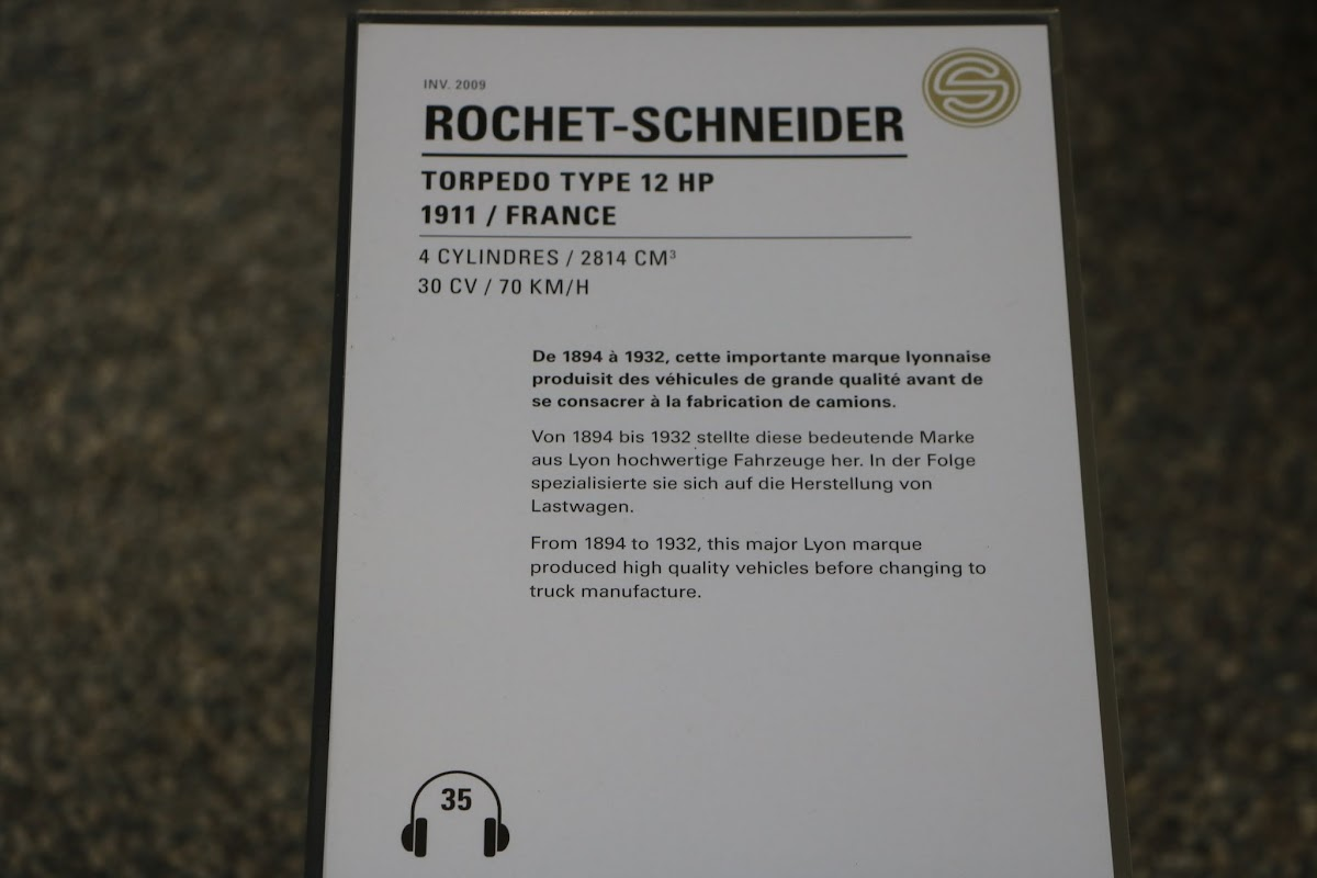 Schlumpf Collection 0541 - 1911 Rochet-Schneider Torpedo Type 12 HP.jpg