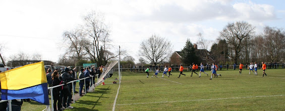 Photo: 14/03/09 v Thoresby CW (CMLP) 1-1 - contributed by Martin Wray