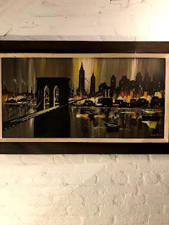 Brooklyn Bridge Oil 1970
