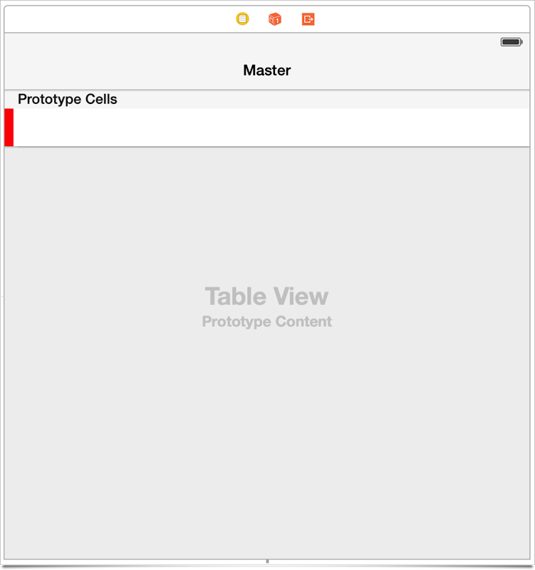 UITableView Storyboard