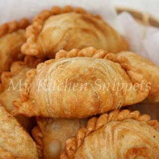Spiral Curry Puffs/Karipap Pusing