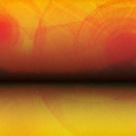 generative digital abstract landscape