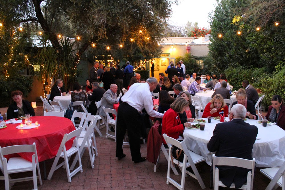 December Chamber XChange at Tucson Botanical Gardens
