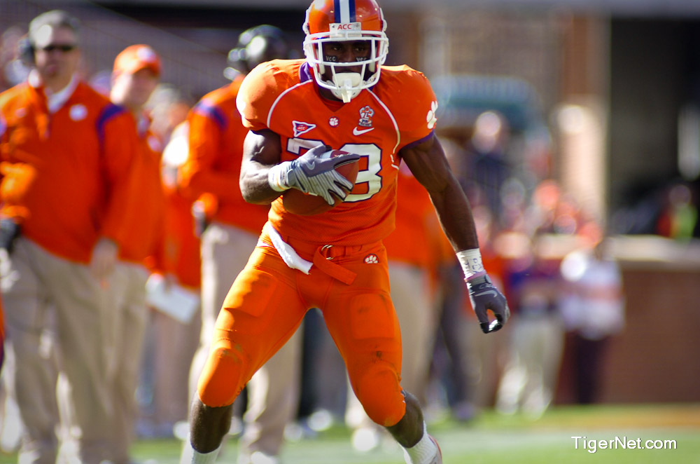 Clemson vs. Duke Photos - 2008, C.J. Spiller, Duke, Football