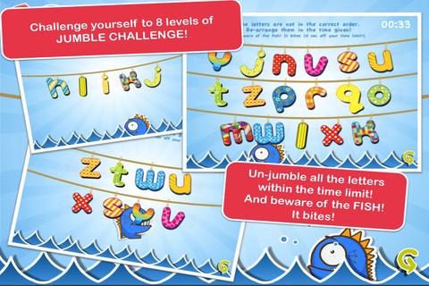 Alphabet Jumbled Challenge