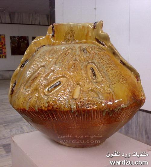 معرض طلبة الخزف كلية الفنون بغداد 2010