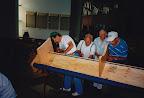 Parish Workbee - Installing pews Sept 94