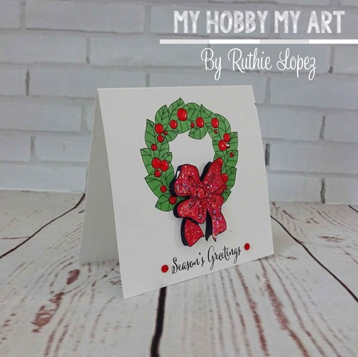 Christmas-wreath-christmas-card--crafty-sentiments-designs-Ruth-Lopez-My-Hobby-My-Art-1