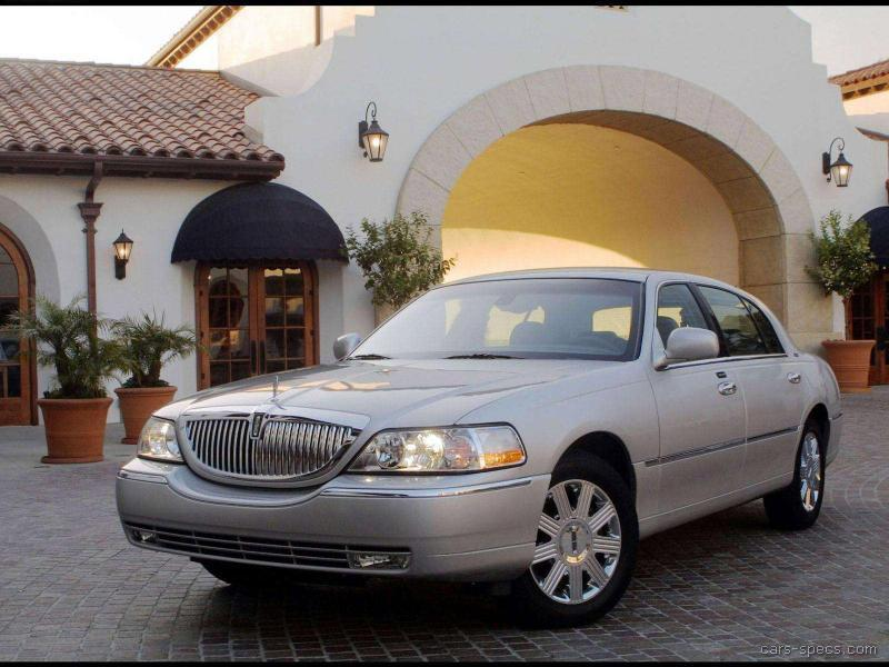 2004 Lincoln Town Car Sedan Specifications Pictures Prices