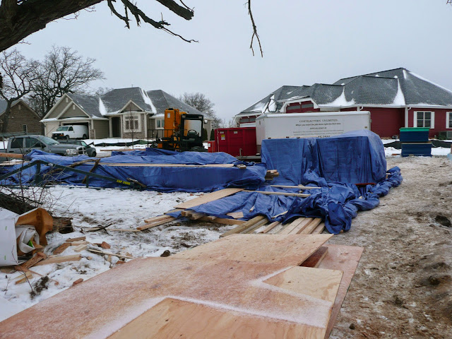 Building of new home in Waukesha, WI - P1030303.JPG