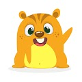 Cartoon Hamster Chipmunk Free Download Vector CDR, AI, EPS and PNG Formats