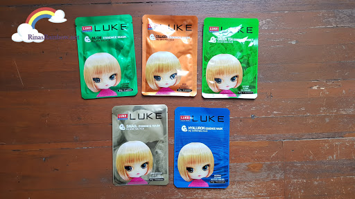 LUKE Korea Total Skin Solution, Korean Facial Mask