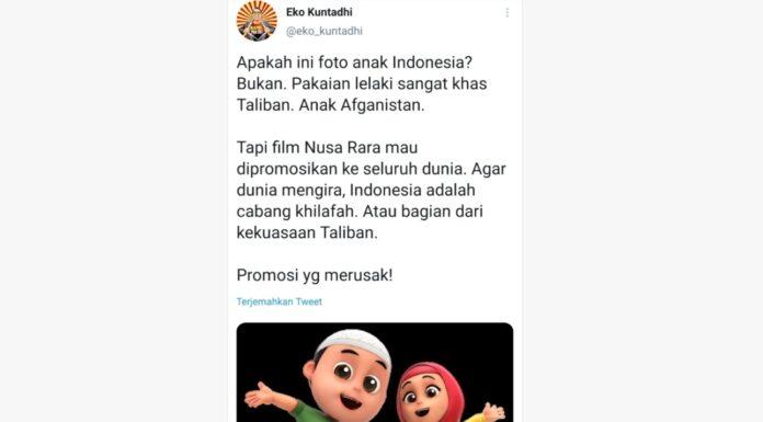 Cuitan Eko Kuntadhi soal Taliban jadi Sorotan, Netizen: Gak Heran Jokowi Difitnah Anti Islam