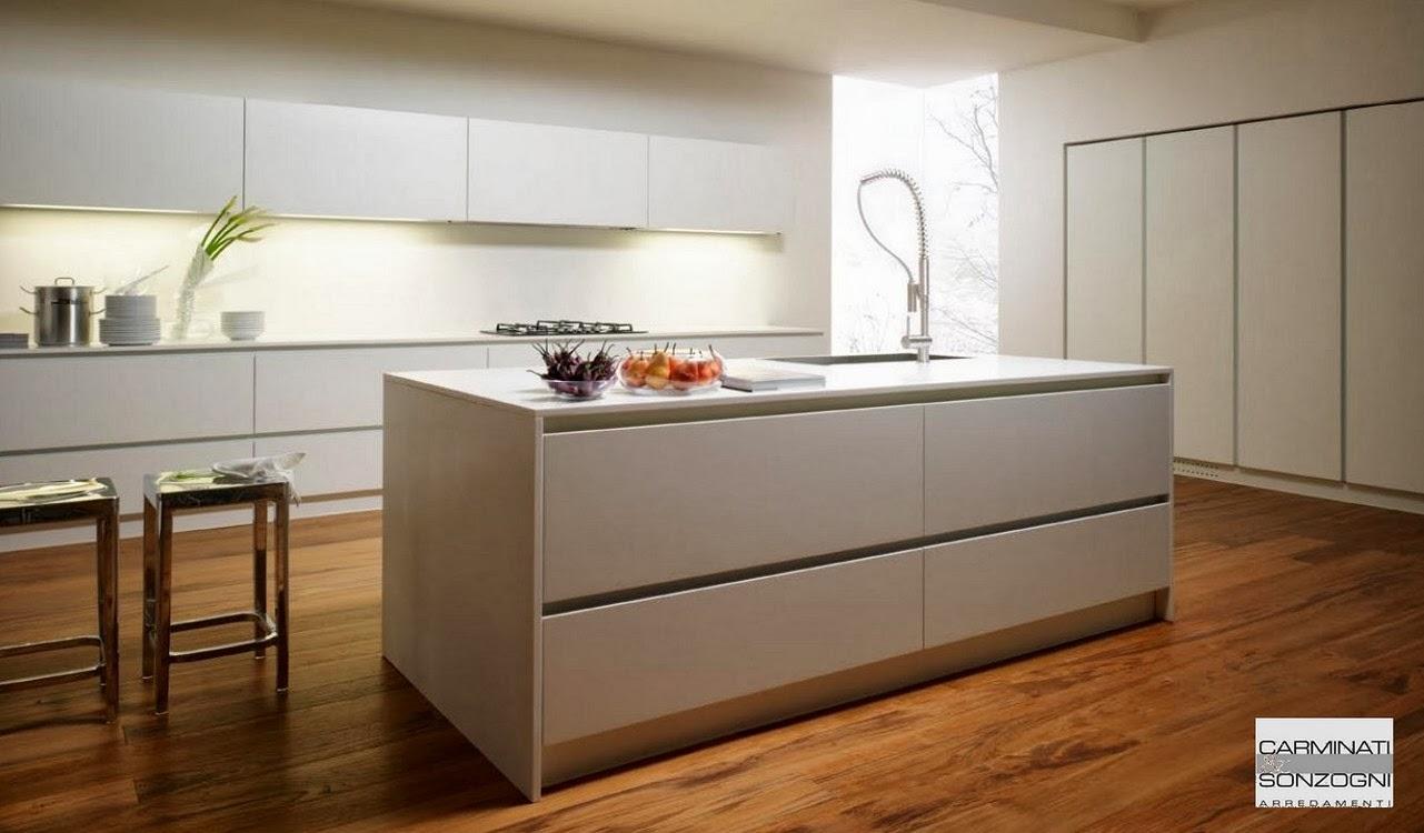 Cucine la casa moderna carminati e sonzognicarminati e for Cucine boffi con isola