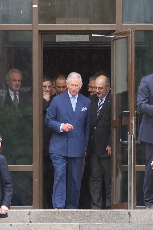 Principele Charles de Wales, Doctor Honoris Causa al Universităţii din Bucureşti