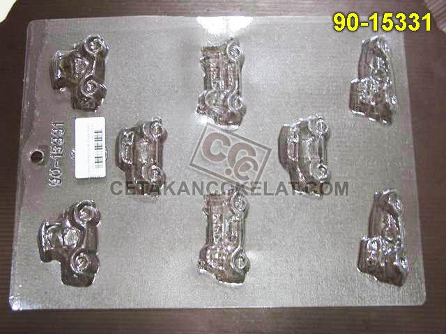 Cetakan Coklat 90-15331 cokelat mobil