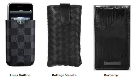 iPhone case - Louis Vuitton, Bottega Veneta, Burberry